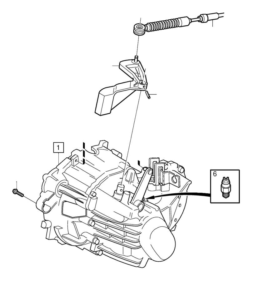 Volvo S60 Flange screw. Transmission, Gearbox, Engine