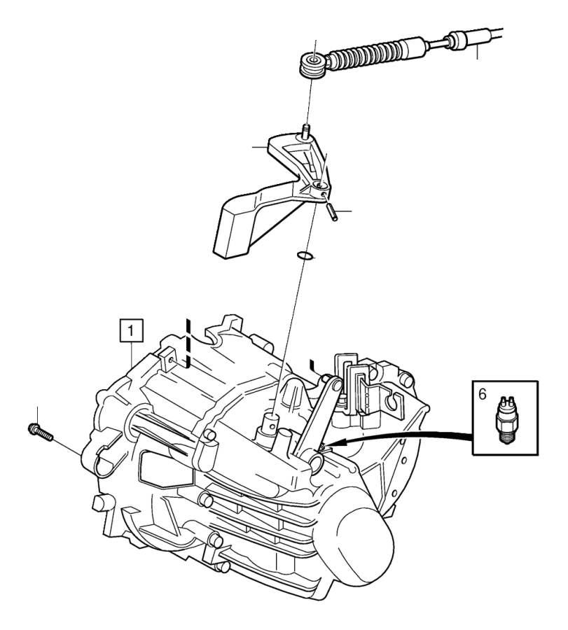 Volvo XC90 Flange screw. Transmission, Gearbox, Engine
