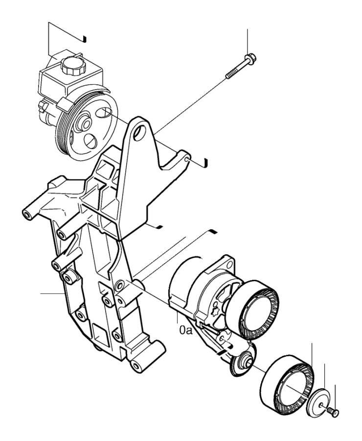 Volvo XC90 Flange Screw. Auxiliary aggregate Suspension