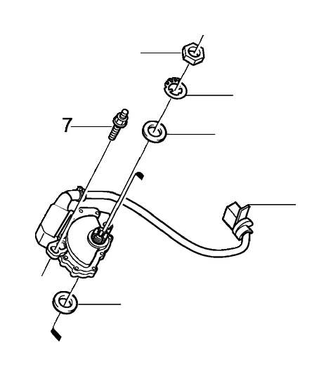 Volvo S80 Automatic Transmission Gear Position Sensor