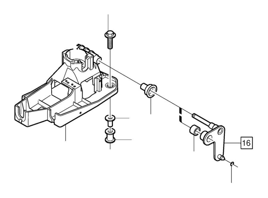 Volvo C70 Bushing. Brush Holder 16. Gearshift. Manual