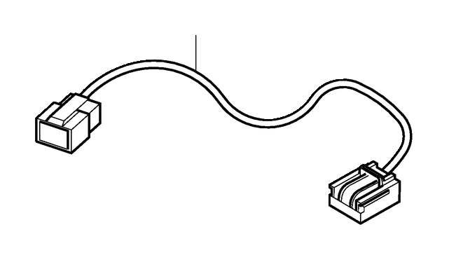 Volvo S40 Harness. Adapter Harness For AUD Power Connector