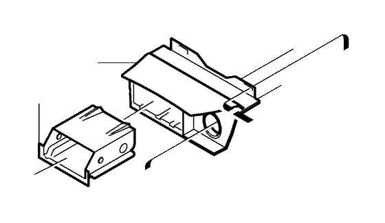 Volvo S40 Box. Auto.TRANS. Center Console. Hovedsyl 1344