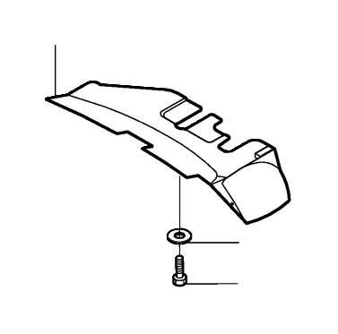 Volvo S80 Instrument Panel Knee Bolster (Sand/Beige