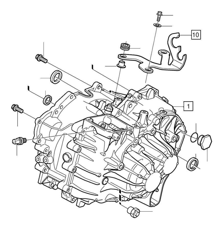 Volvo V70 XC Manual Transmission Input Shaft Seal