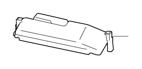 Volvo V70 XC Fuse Box Cover (Inner). CH 167187