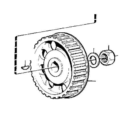Volvo 760 Hexagon nut. Assembly, Installation, Motor