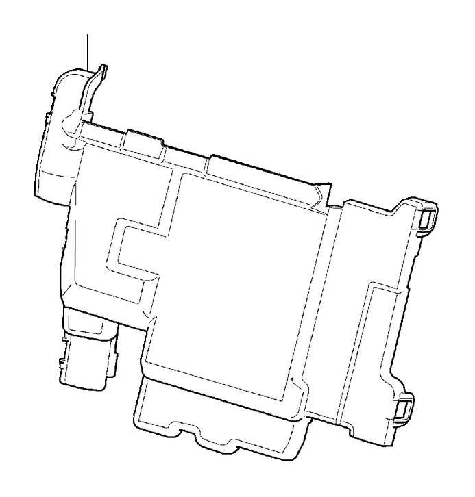Volvo S60 Inscription Cover. Primary Relay and Fuse Box