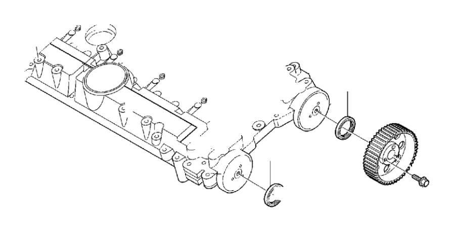 Volvo S80 Engine Timing Camshaft Sprocket. Pulley