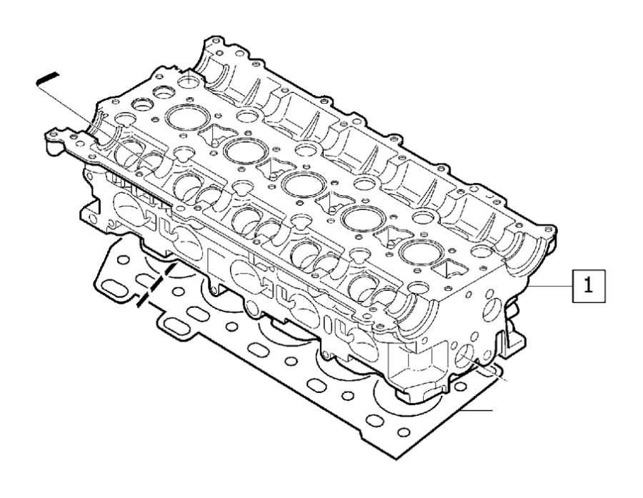 Volvo S70 Engine Cylinder Head Gasket. Top End Engine