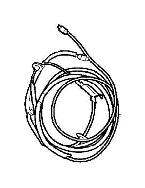 Volvo V70 Wiring Harness Connector (Rear). Park Assist