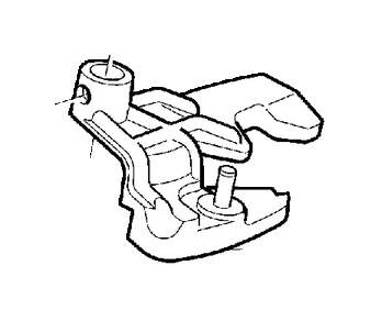 Volvo C70 Intermediate Lever. Gearbox, Manual