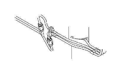 Volvo S40 Brake Pipe. Brake Line with Connections. D4162T