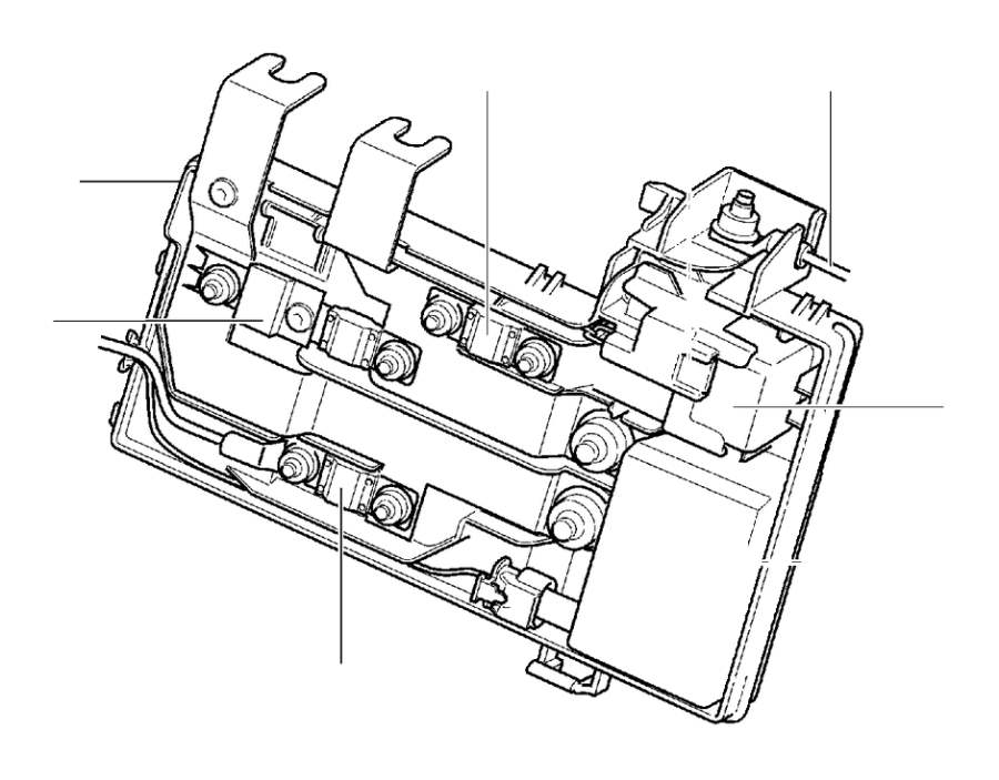 Volvo V60 Section. (Rear). Primary, Fuse, Engine