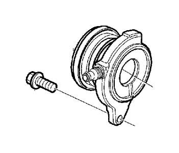 Volvo V50 Clutch Release Bearing and Slave Cylinder
