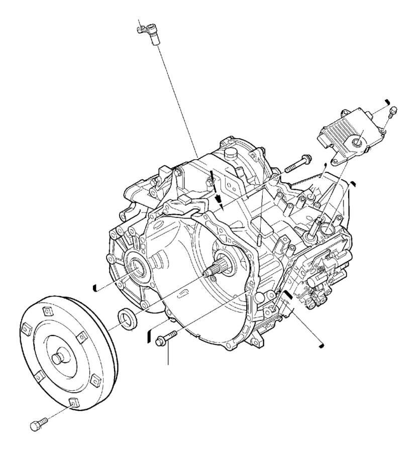 Volvo V50 Sensor Kit. Automatic Transmission. Combined