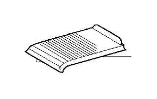 Volvo C70 Console Lid (Grey). Basic Blind. Base. Bauxite
