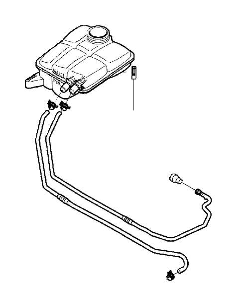 Volvo V50 Hose clamp. Connections, Radiator, TRANS