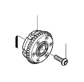 Volvo S80 Engine Timing Camshaft Sprocket. Pulley. Intake