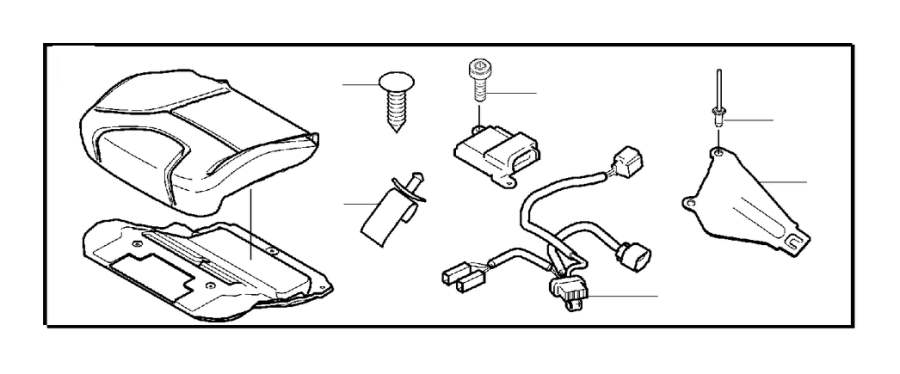 Volvo S80 Air Bag Wiring Harness (Right, Front). Cable