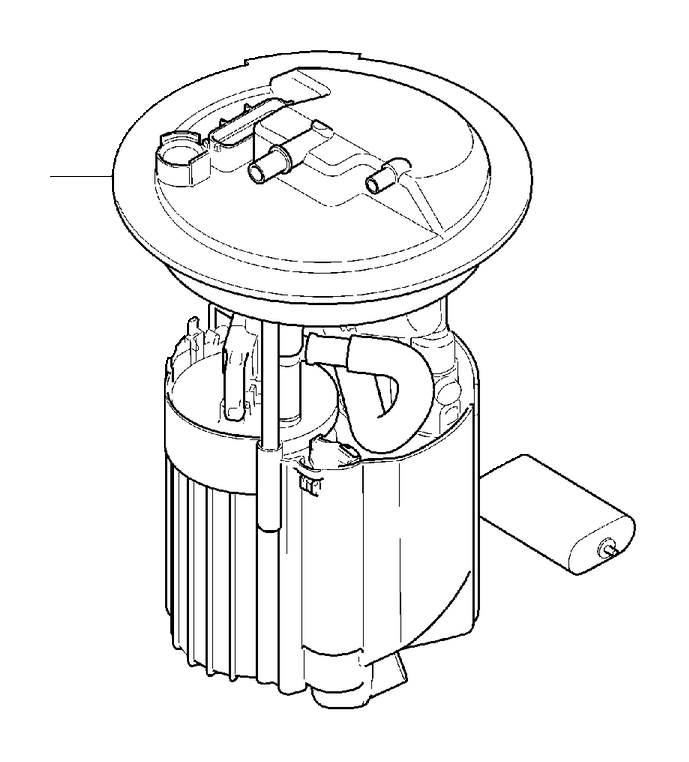 Volvo S40 Pump Unit. Emission Code 4, 5. Fuel Pump. With