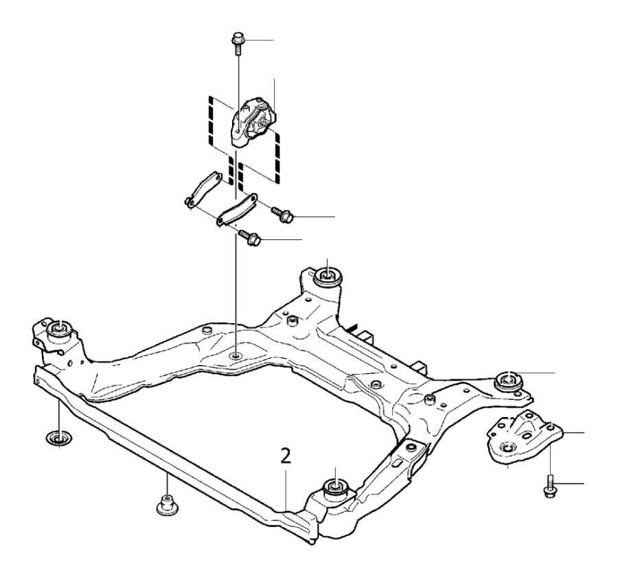 Volvo V70 Engine Mount Bracket. Stay. Engine Mountings