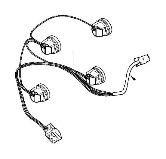 Volvo XC90 Tail Light Harness (Left, Rear). Lighting