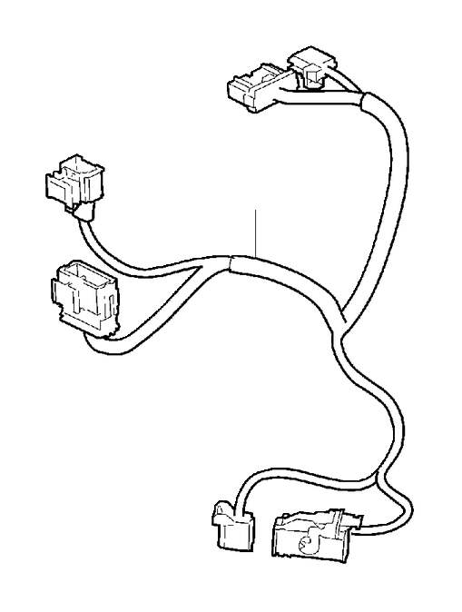Volvo S80 Wiring Harness. BPM and/or TEM. Cable Harness