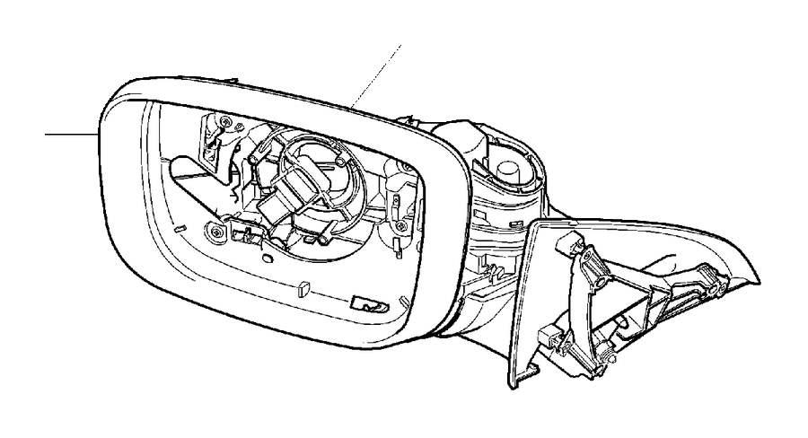 Volvo XC60 Drive Unit. Door Mirrors. Electric Folding