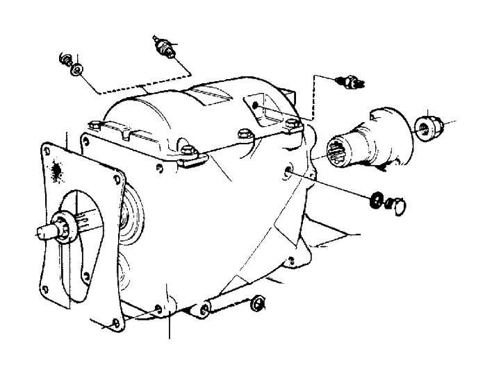 Volvo 940 Sealing Ring. Manual, Transmission, Gearbox