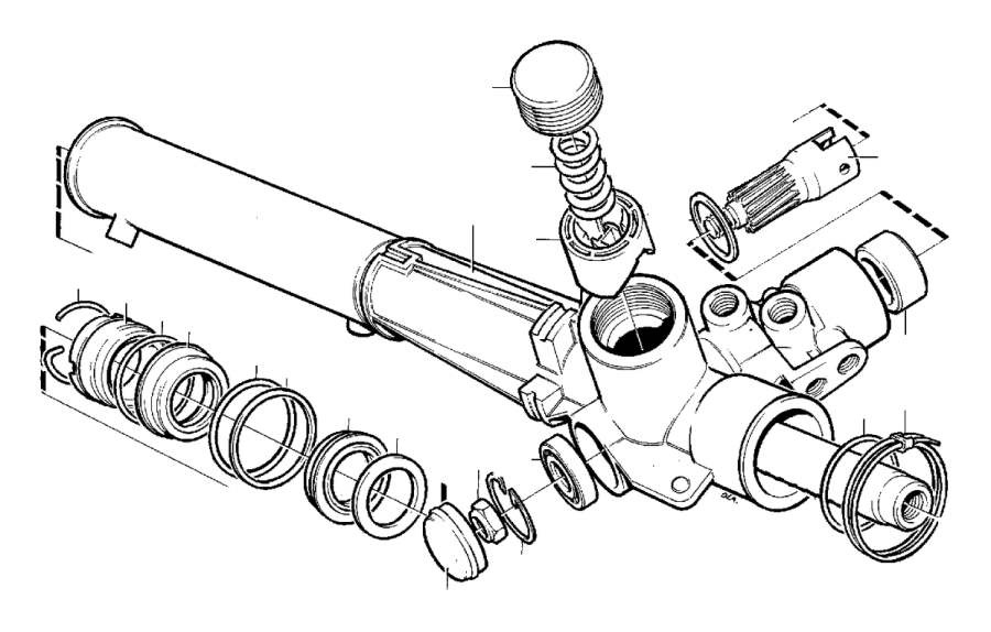 Volvo 240 O ring. P.s cam. Steering gear. 1359900. 1387500