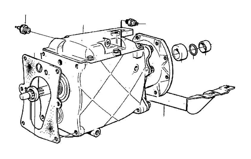 Volvo 940 Manual Transmission. Transmission MARKED 1208713