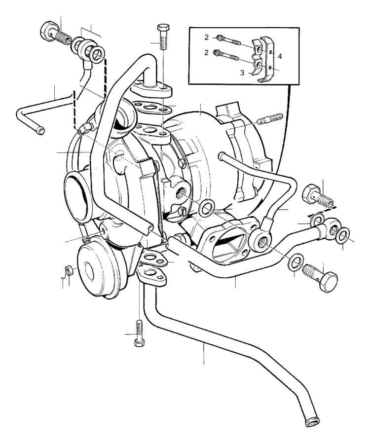 Volvo 760 Mounting Kit. Turbocharger. B19ET. B23ET. B23FT