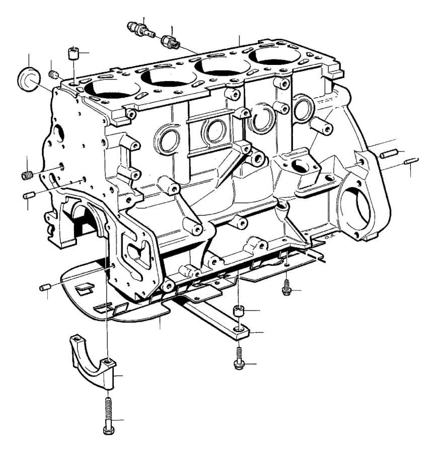 Volvo 940 Plug. ALTER. B200. B204FT. B230. 3/8. Cylinder