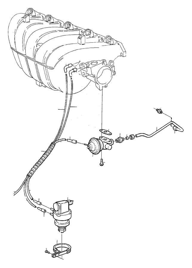 Volvo 850 Egr pipe. B5202fs. Exhaust gas recirculation