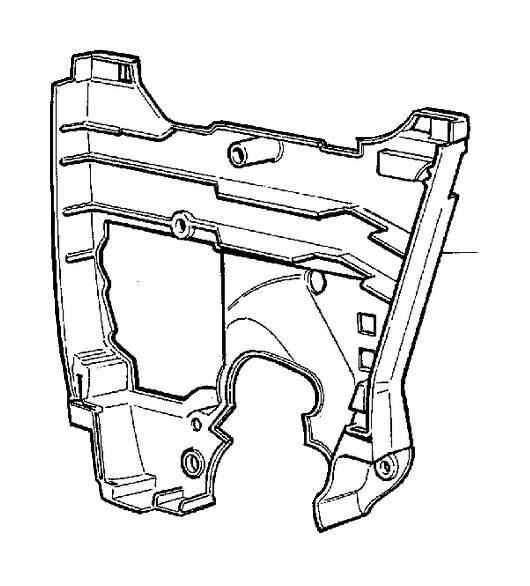 Volvo 850 Engine Timing Cover (Inner). Belt, Drive
