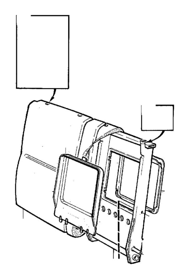 Volvo S70 Frame. Seat. X. (Rear). 4DRS. CODE 3X50. CODE