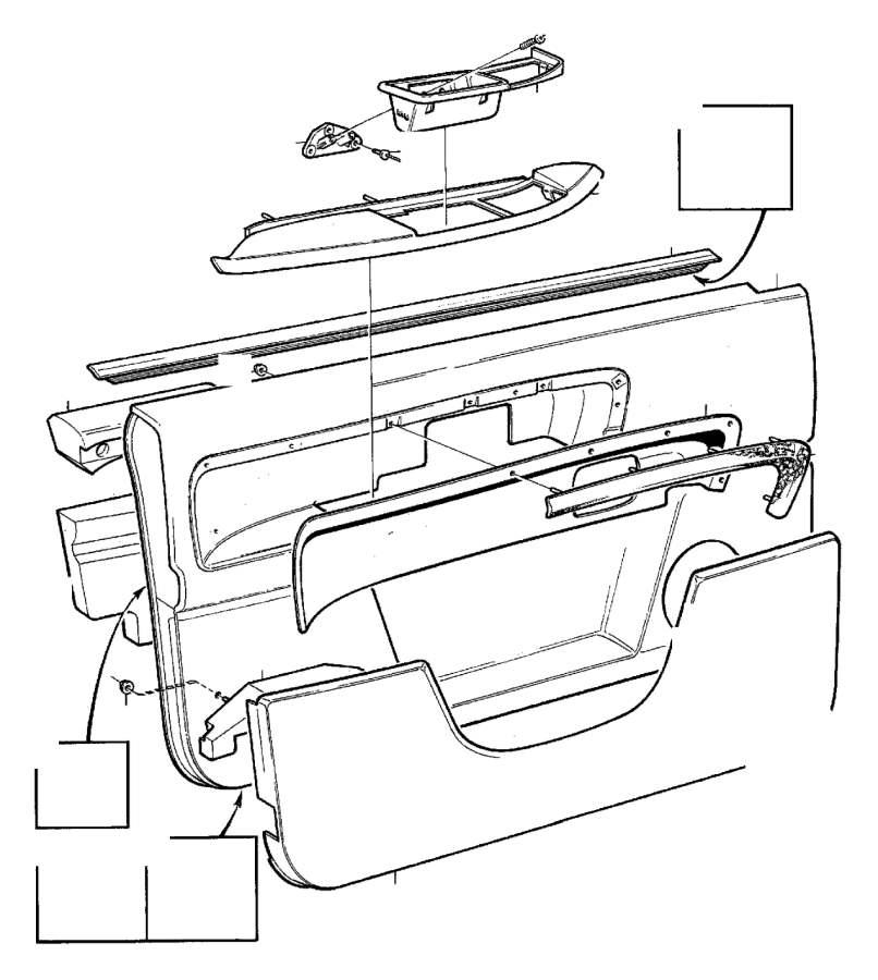 Volvo 960 Arm Rest. EXEC. Parts Door Panel. See