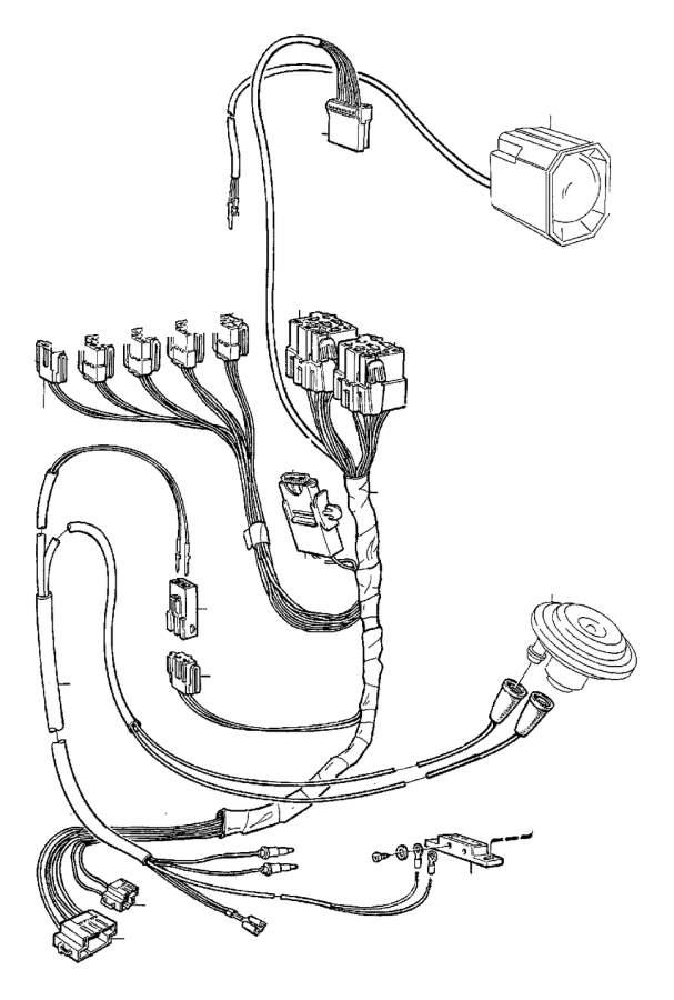Volvo S70 Socket housing. Electrical, Distribution