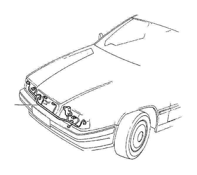 Volvo 850 Wiring Harness. Auto.TRANS 2VALVE. Auto.TRANS