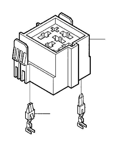 Volvo V70 Socket housing. Electrical, Distribution