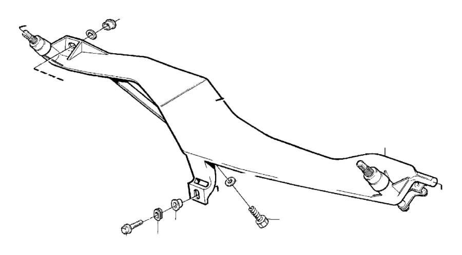 Volvo 850 Windshield Wiper Linkage Washer. Spacer Sleeve