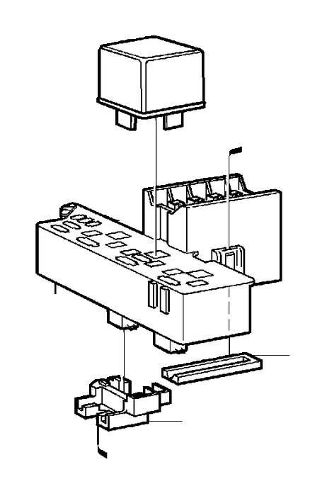 Volvo V70 Nut. Central Electrical Unit. Diesel. DSL