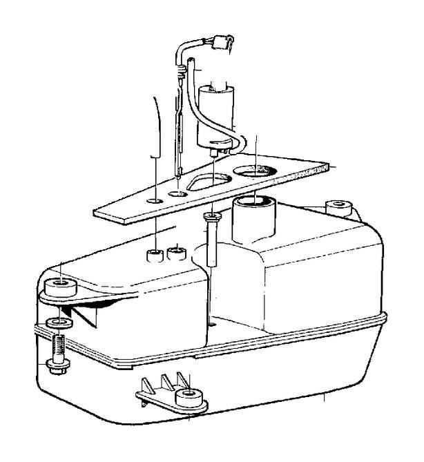 Volvo 850 Sealing. Windscreen Washers. Windshield Washers