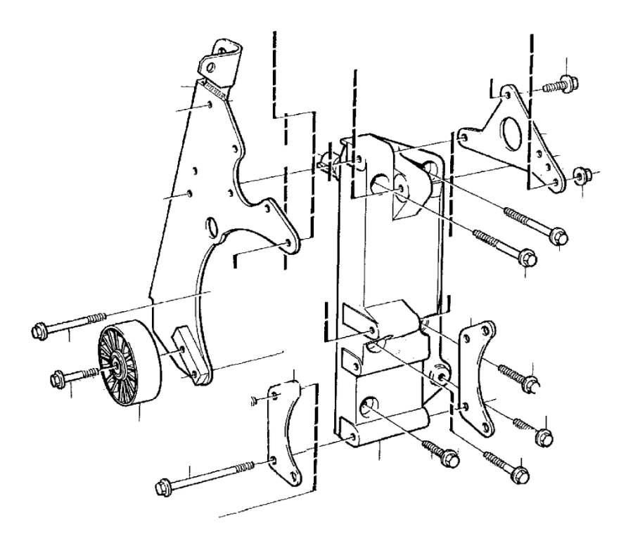 Volvo C70 Accessory Drive Belt Idler Pulley. IDLER ROLLER