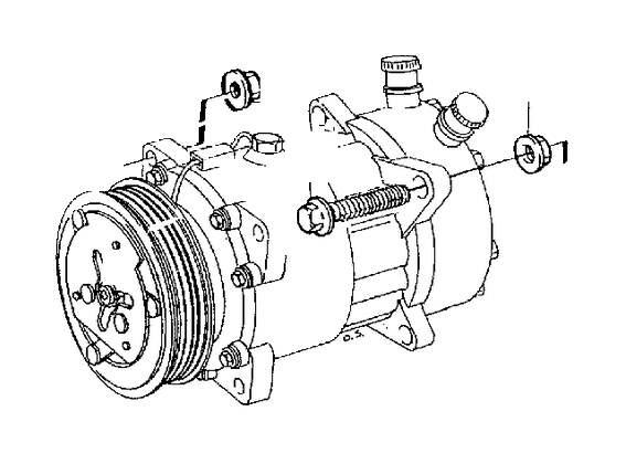 Volvo V70 XC Screw. A.C B5234FS. Automatic Gearbox