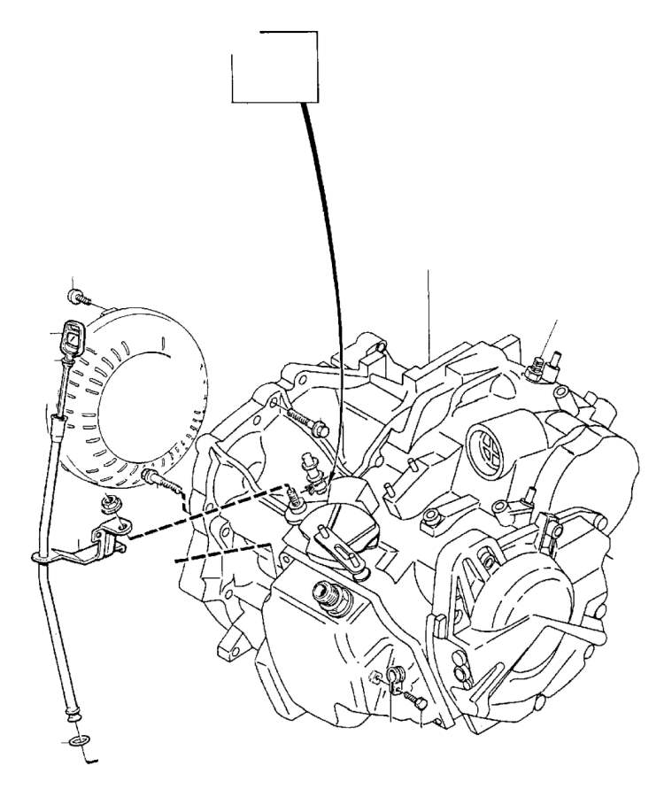 Volvo C70 Brake Hydraulic Hose Lock Clip. Hose Retainer