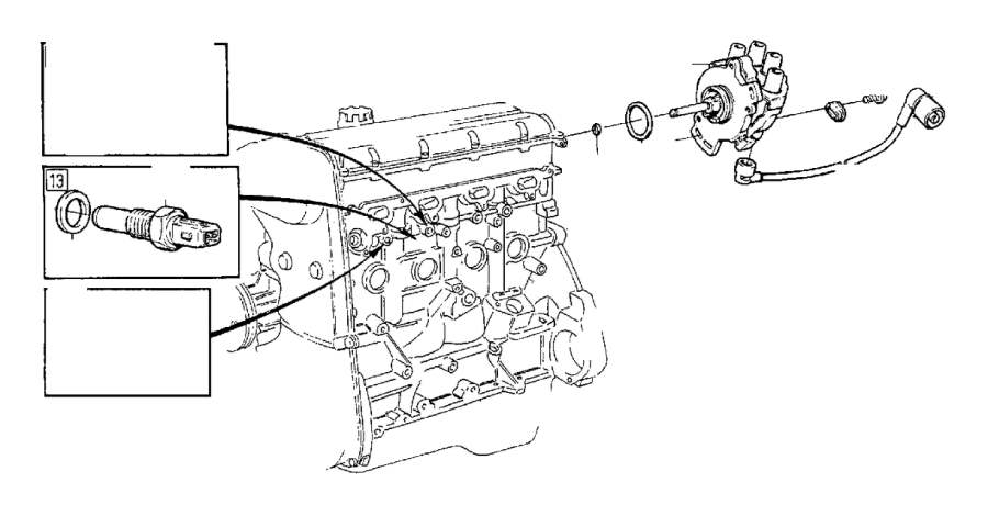 Volvo 960 Distributor O-Ring. System, Ignition, Fuel