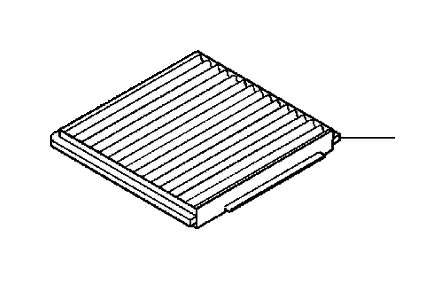 Volvo S40 Particulate Filter. Climate Unit. Fan Unit