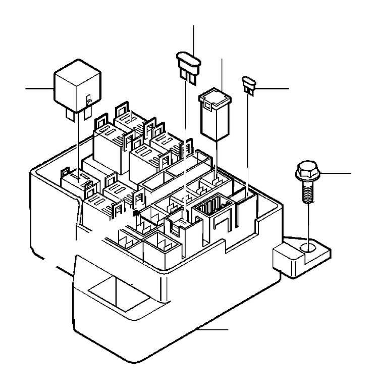 Volvo V40 Relay. Cabin. Central electr. Defroster. El